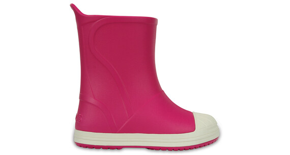Crocs Bump It Boots Kids Candy Pink/Oyster